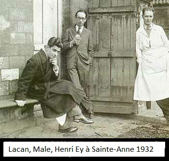 Lacan, Male et Ey